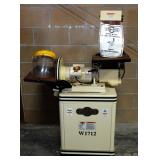 "Shop Fox 12"" Disk And 6"" Belt Sander Model W1712, Powers On"