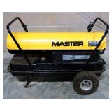 Master 200,000 BTU Portable Heater On Wheels