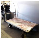 "Platform Truck, 48"" Long X 24"" Wide, With Handle"