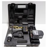 "Craftsman IndustrIal 3/8"" Cordless Drill/Driver With Extra Battery And Charger, In Hard Case"