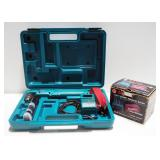 Makita Cordless Angled Driver Model DA391D With Extra Battery And Charger In Hard Case And Makita Fi