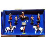 """W Britain """"The Royal Scots Dragoon Guards"""" Number 5290 , 8 Piece Limited Edition Boxed Set Collector"""