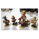 "Goebel Hummel Figurines Including ""Apple Tree Girl"" And ""Little Helper"", Memories Of Yesterdays ""I"