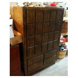 """Mid Century Modern 5-Drawer Chest Of Drawers, 54"""" x 35"""" x 18"""""""