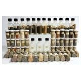 Soil Collection From Various Locations Of The Americas, Each Location Identified, 72 Containers, And