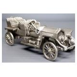 Danbury Mint Pewter Model Cars, Qty 5