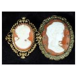 Cameo Jewelry Collection, Includes Necklaces, Lockets, Pins, And Earrings