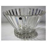 "Rosenthal Lead Crystal Bowl, 6"" High x !0"" Diameter"