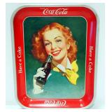 Vintage Coca-Cola 1948 Serving Tray