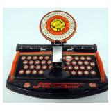Mar Tin Junior Dyle Typewriter, Tin Xylophone And Tin Noisemaker