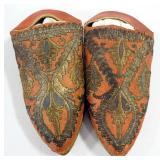 Antique Arabic Handmade Slippers, Believed To Be Size 5