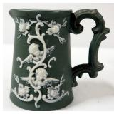 Fire-King Anchor Hocking Cups, Qty 9, Wedgewood Style Creamer, Shirley Temple Creamer, Total Qty 11