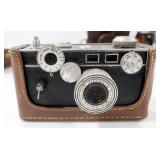 Vintage Camera Collection, Includes Argus, Kodak Motormatic, Edindex, Petri 7, Kodak Eight Model 20,