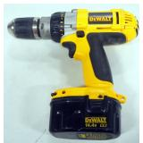"DeWalt Heavy Duty XRP 1/2"" Cordless Drill/Driver Model DW983, With 2 Batteries, 1 Charger, And Instr"