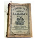 Antique Almanac Collection, Includes Bucklen