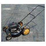 Poulan Pro Lawn Mower Model PR600N21RH With GTS 6.5 HP Engine, Stop And Start Switch Is At Engine