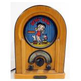 Betty Boop Collector Radio AM/FM Cassette Player, Powers On