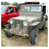 1952 Willys Jeep Model M38, Identification Number 6361