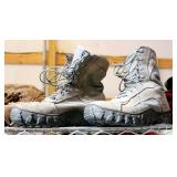 Gortex Military Lace Up Boots Size 8 And 8.5 QTY 2 And 5.5