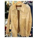 Leather Military Jacket With Liner Men