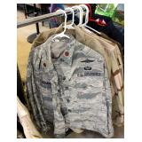 US Military Dress Blouses, Fatigue Blouses, And More