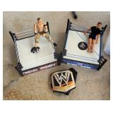 WWE Action Figures, Wrestling Rings, Inflatable Punching Bag, And More