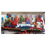 Marvel Spiderman Titan Heroes Action Figures, Spiderman Kite, And Batwing Performance Stunt Drone