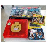LEGOs Including Marvel Superheroes Captain America, Scooby Doo, And Star Wars LEGO Sets, And LEGO St