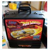 Hot Wheels Die Cast Car Collection, Including Rolling Carrying Case Approx 78 Cars