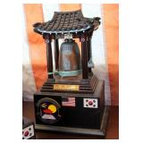 """""""The Divine Bell Of King Song Dok The Great"""" Squadron Awards Qty 2, 12"""" x 8"""" x 6"""""""