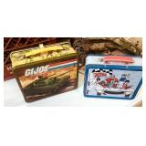 Vintage GI Joe Thermos Lunchbox And Speed Racer Lunchbox