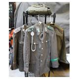 German Military Uniform Jackets Qty 3 And Blouses Qty 3