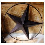 """36"""" Metal 3-Dimensional Star Wall Hanging"""
