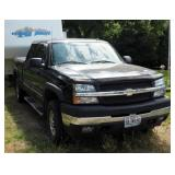 2004 Chevrolet Silverado Pickup Truck, VIN # 1GCHK23U64F115874, Mileage Showing On Odometer 250,920