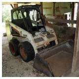 Rubber Tire Bobcat 751 Skid Steer Loader, Hours 1006.5 And 1/10, Rated Operating Capacity 3000 Lbs,