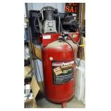Coleman Industrial Powermate 80 Gallon Air Compressor, Model CV6548049, 220 Volt, 200 PSI, With 2-St