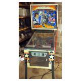 """1977 Evel Knievel Pinball Machine, 72"""" x 30.5"""" x 54"""""""