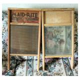 Maid-Rite Brass Washboard
