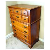 "Flanders Solid Wood 4-Drawer Chest Of Drawers, 45"" x 34"" x 18"""