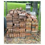 "3.5"" x 2"" x 8"" Brick Assortment, Approx Qty. 250, Includes Concrete Cinder Blocks, Qty. 10"