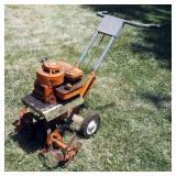 "Montgomery Ward Gas Powered Garden Tiller Model #GIL1531A, 20"" 4 Prong Blade, 3.5 Horsepower Motor"