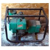 Coleman Powermate Electric Generator, 54 Series, 8 HP Briggs And Stratton Gas Powered Motor