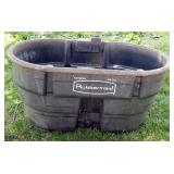 Rubbermaid 50 Gallon Water Tub With Automatic Float Shut Off Valve