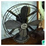 "Antique Diehl Manufacturing 16"" Electric Fan"