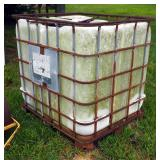 "Liquid Transfer Container With Metal Cage, 46"" x 39"" x 47"""