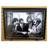 Print Of Photograph Of The Beatles Taken By Linda McCartney After Recording Of Sergeant Peppers, Fra