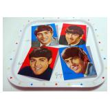 Beatles 5-Part Nesting Doll Set, Includes All 4 Beatles Members And A Beetle, And A Metal Repro Beat
