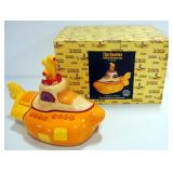 Vandor Beatles Yellow Submarine Limited Edition Cookie Jar, With Certificate Numbered 477/10,000