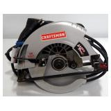 "Craftsman 7-1/4"" Circular Saw Model 10860, Powers On"