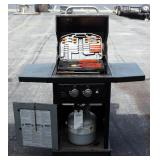 Master Forge 2-Burner Propane Grill Model MFA350CNP, Includes Propane Tank, Cover And Barbeque Tool